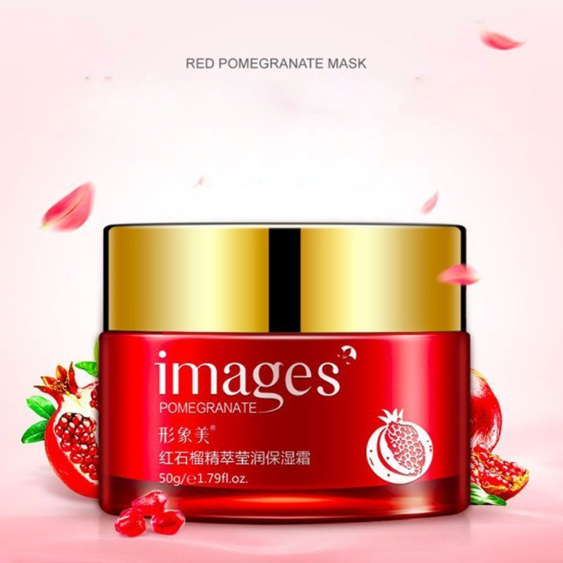 Pomegranate facial cream