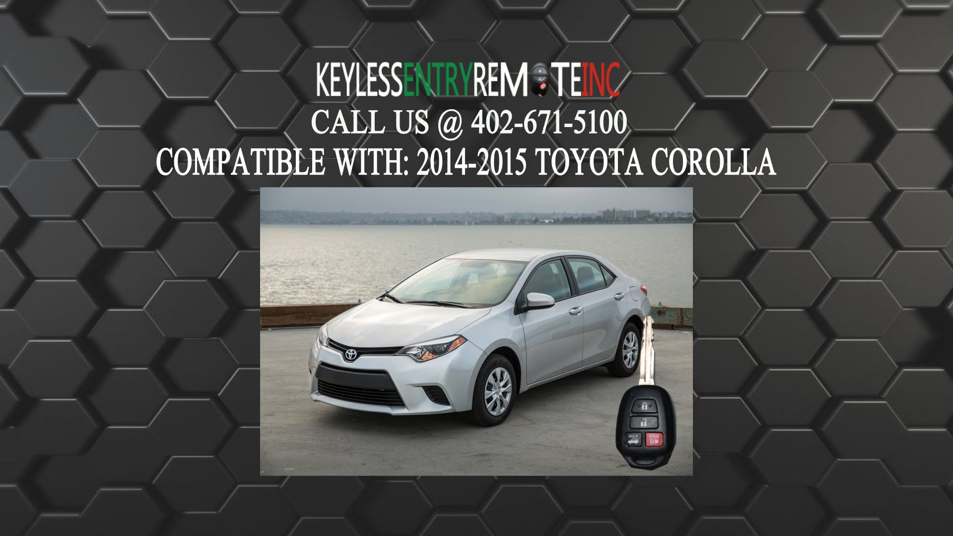 How To Replace A Toyota Corolla Key Fob Battery 2014