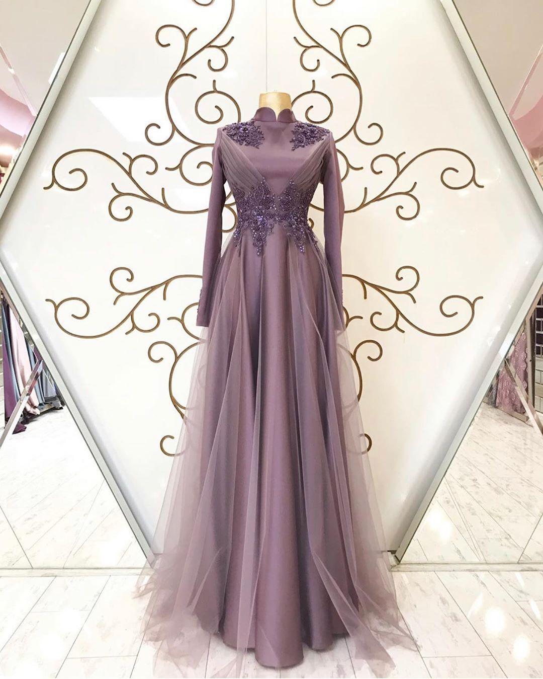 PRENSES ABİYE in 11  Schönste kleider, Lila kleid, Designer kleider