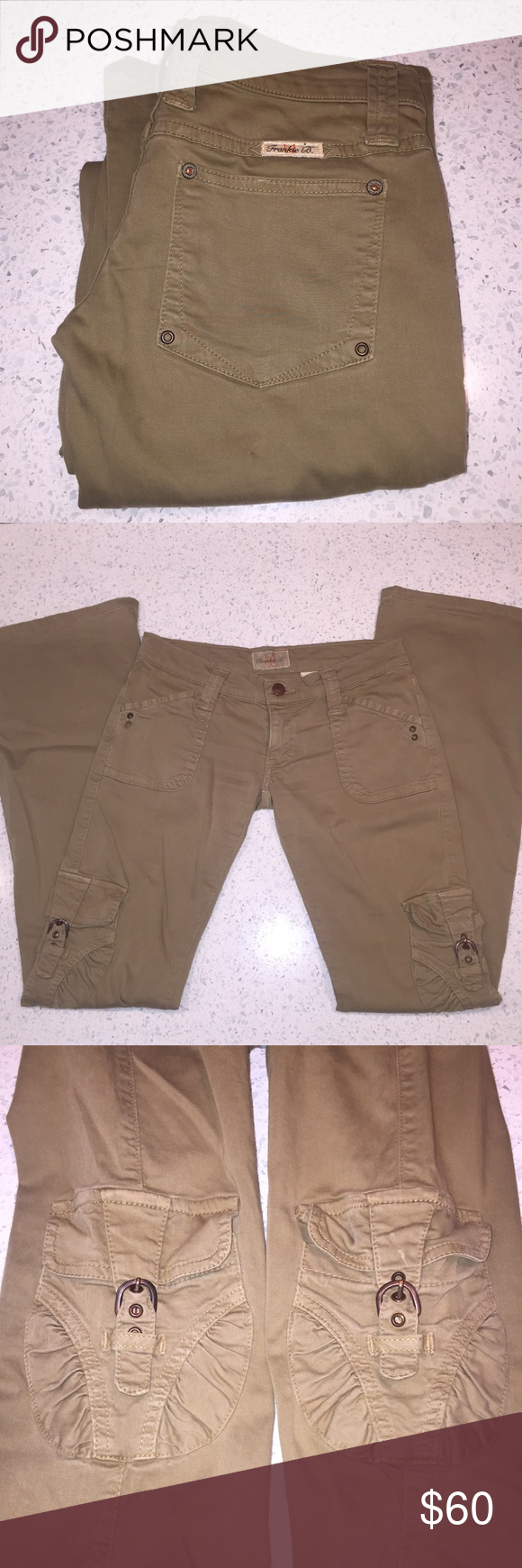 Frankie B Hip Hugger Cargo Pants With Images Cargo Pants Pants Cargo Jeans
