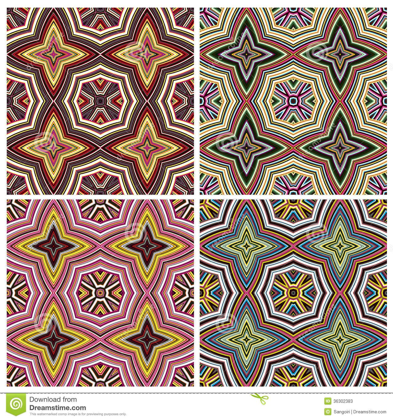 Modern art design kenya seamless vector pattern vivid colors modern art design kenya seamless vector pattern vivid biocorpaavc