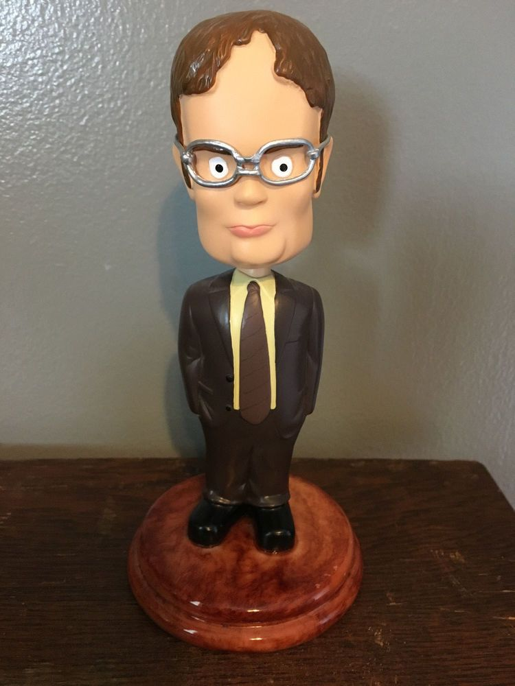 The Office Dwight Schrute Retired Official Bobblehead Nodder NBC TV Show