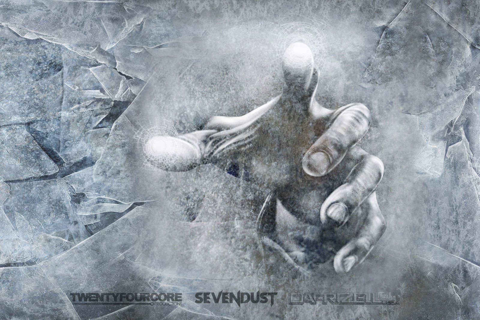 DA Frizell - Hubs art from Sevendust's Cold Day Memory albumn.