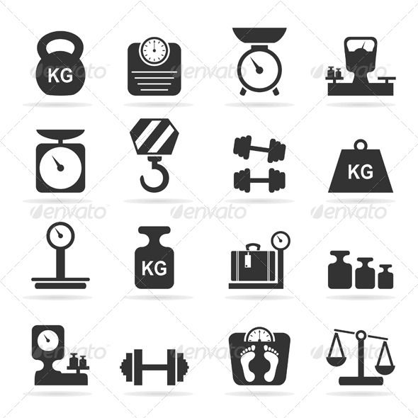 Scales Icons Icon Scale Drawing Logo Sign