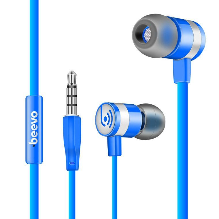 Beevo EM130 In-Ear Earphone Special Edition Headset Go Pro Earphones Clear Bass Earphone With Microphone 4 Colors fone de ouvido