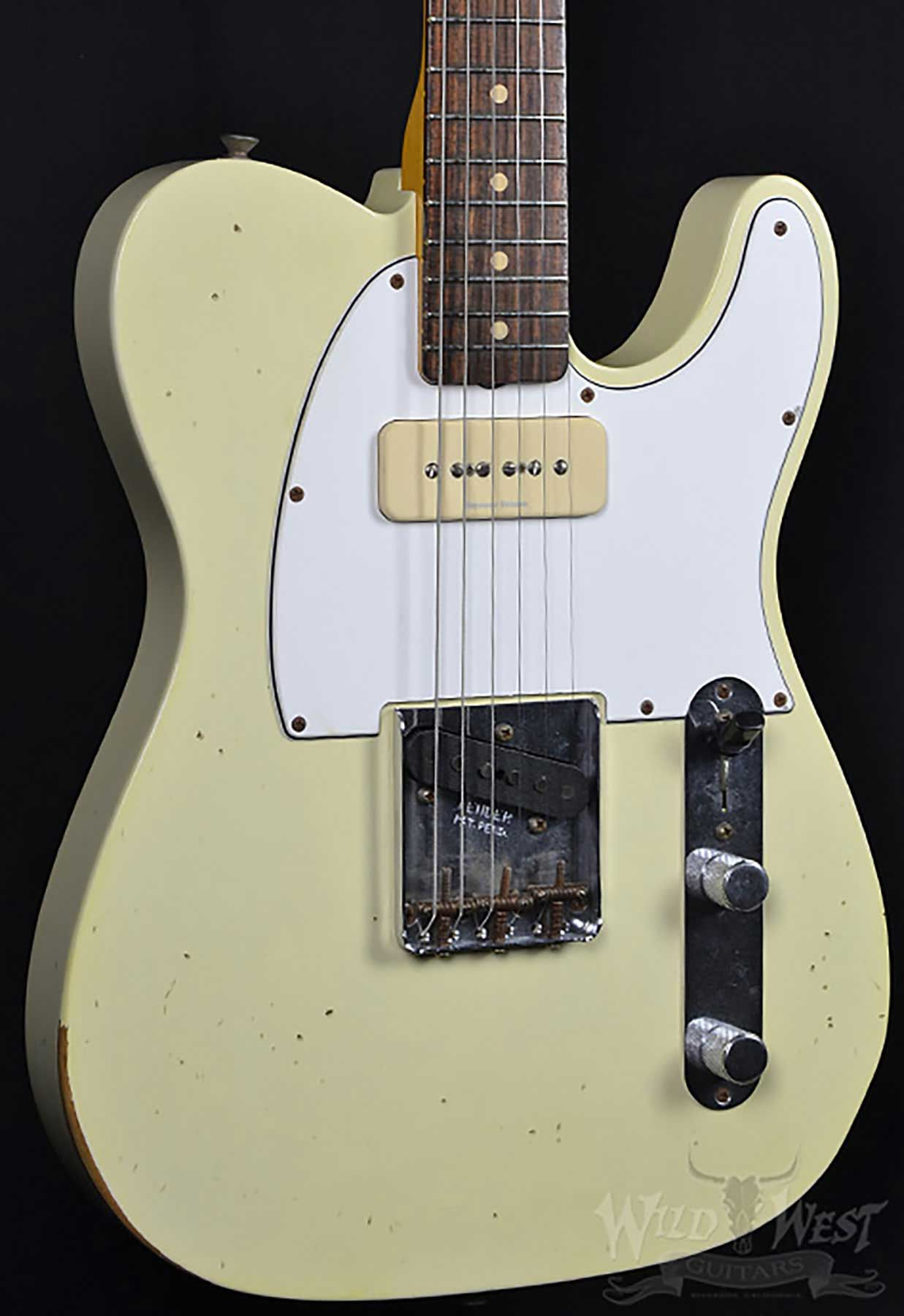 medium resolution of fender 1963 p90 telecaster relic faded vintage white guitar wiring 1963 fender telecaster wiring diagram