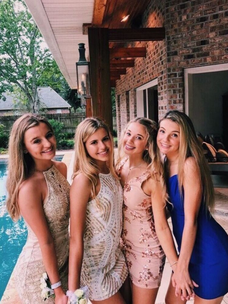 Hot girls group images Pin On Prom Dresses