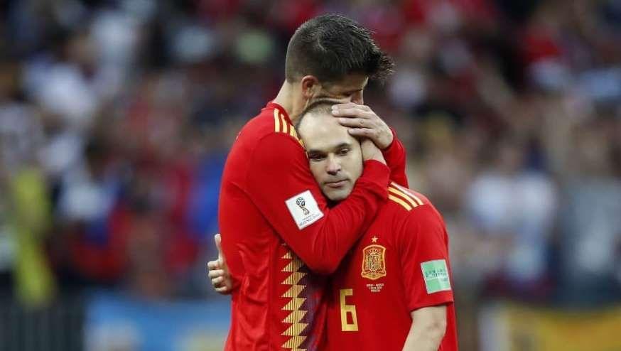A Man Wearing A Football Uniform Fifa World Cup 2018 Russia Spain V Russia Https Footandball Net Andres Iniesta International Football