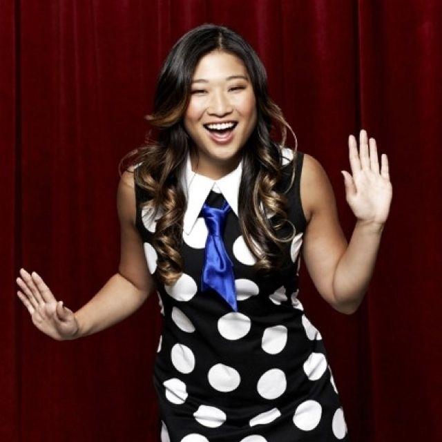 Tina's hair in season 3 of Glee