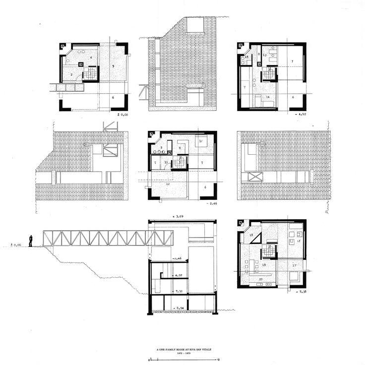 Villa mario botta google zoeken architect for Architect zoeken