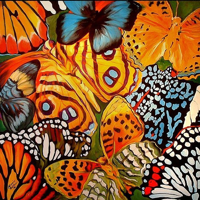 Abstract Butterfly Art | IS A COMMISSIONED PAINTING ...