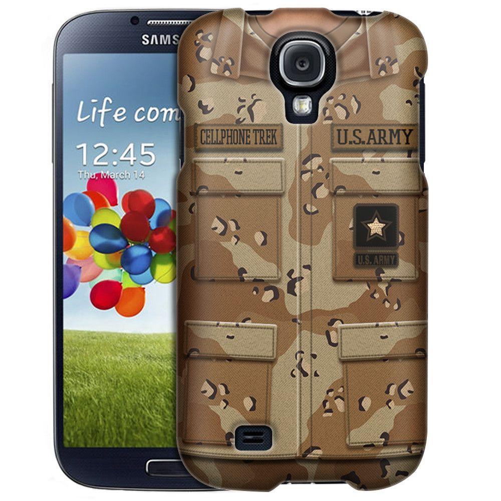 Samsung Galaxy S4 Army Desert Camouflage Uniform Slim Case