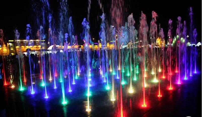 Underwater Led Fountain Light For Dry Fountains