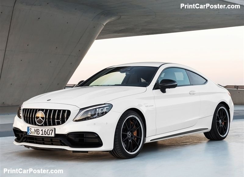 Mercedes Benz C63 S Amg Coupe 2019 Poster Id 1349639 Mercedes Benz Amg Mercedes Benz C63 Mercedes Amg