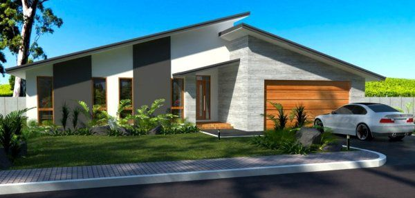 3 Bedroom Double Garage   Australian Houses Cheap House Plans