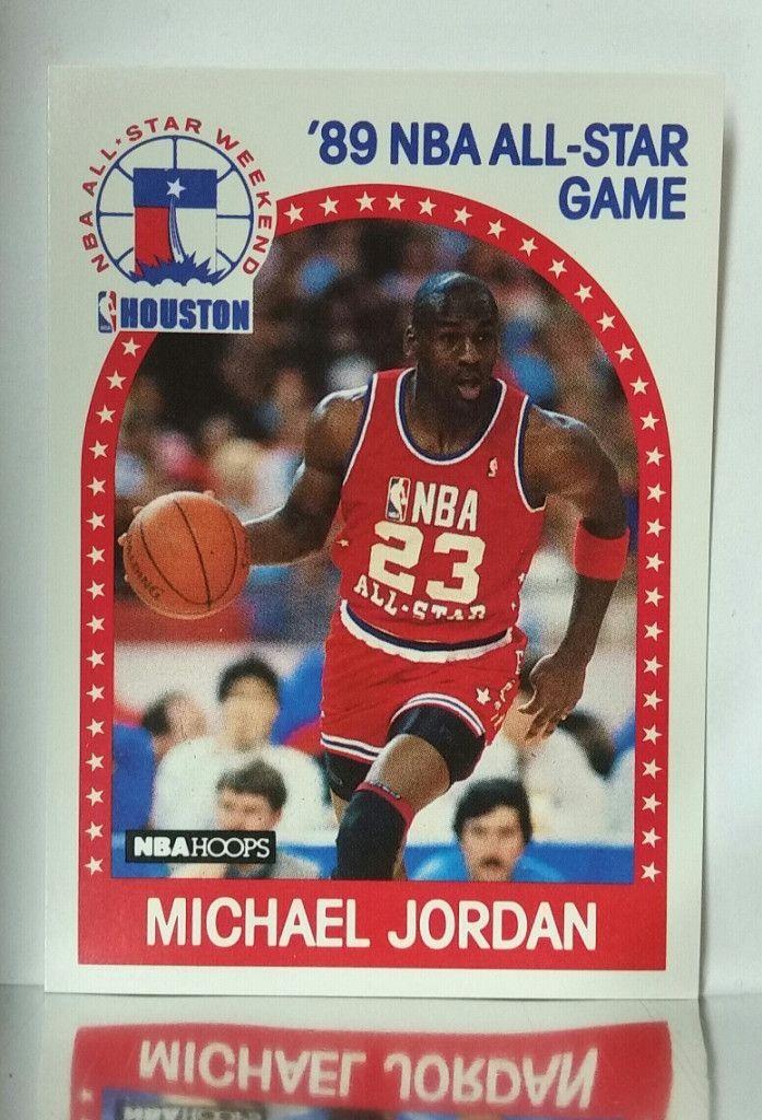1989 Hoops 21 Michael Jordan Chicago Bulls Hof Houston All Star Game Mint Michael Jordan Basketball Cards Michael Jordan Basketball Michael Jordan