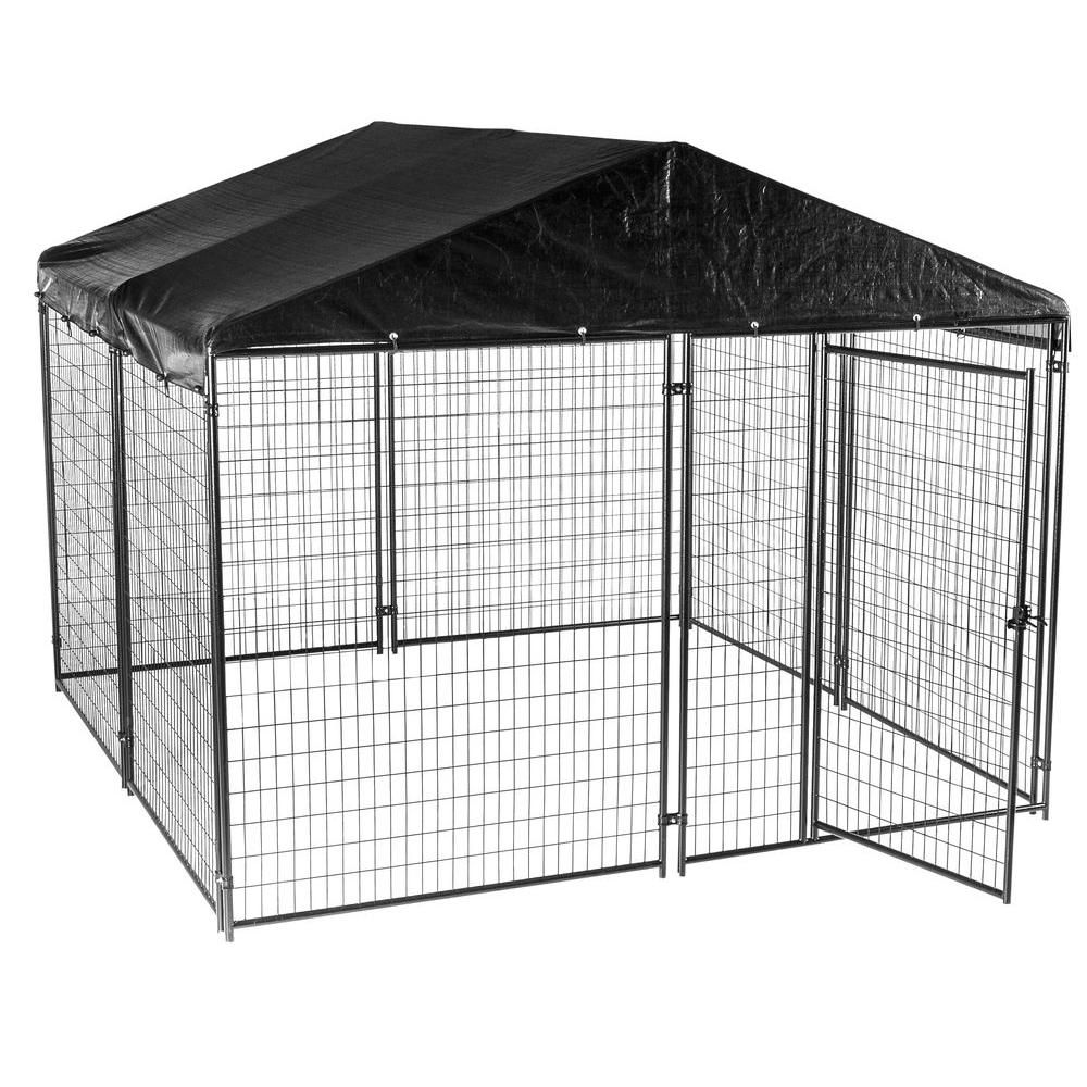 Lucky Dog 6 Ft H X 10 Ft W X 10 Ft L Modular Kennel
