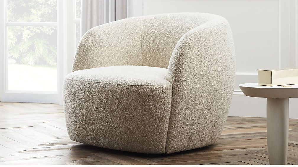 Accent Chair Swivel Furniture Comfy Chairs Cozy Chair