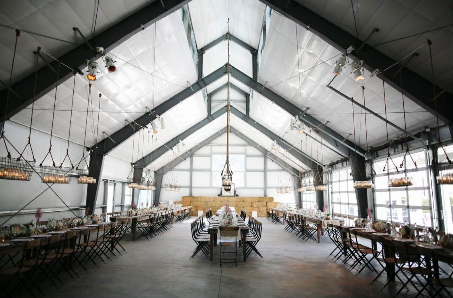 Renewing Your Vows Venue West Orange: Industrial Barn Bash At Durham Ranch