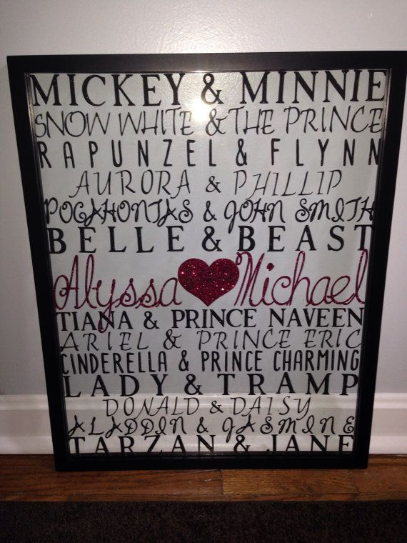 Personalized Couples Wall Art