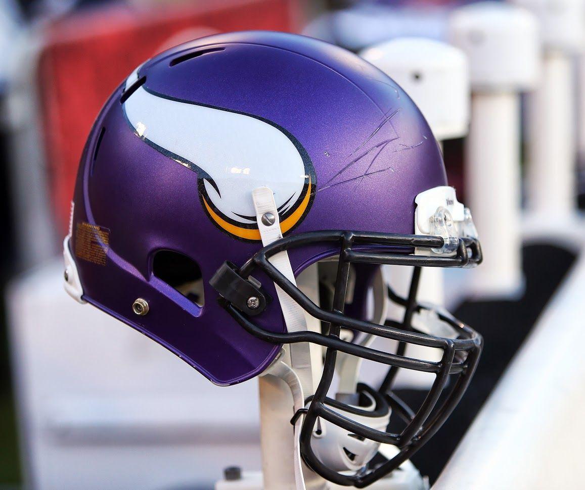 Minnesota Vikings Matte Helmet