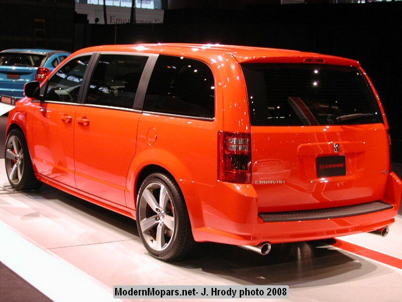 Dodge Caravan Rt Concept Rear Dodge Caravan Rt Caravan Dodge