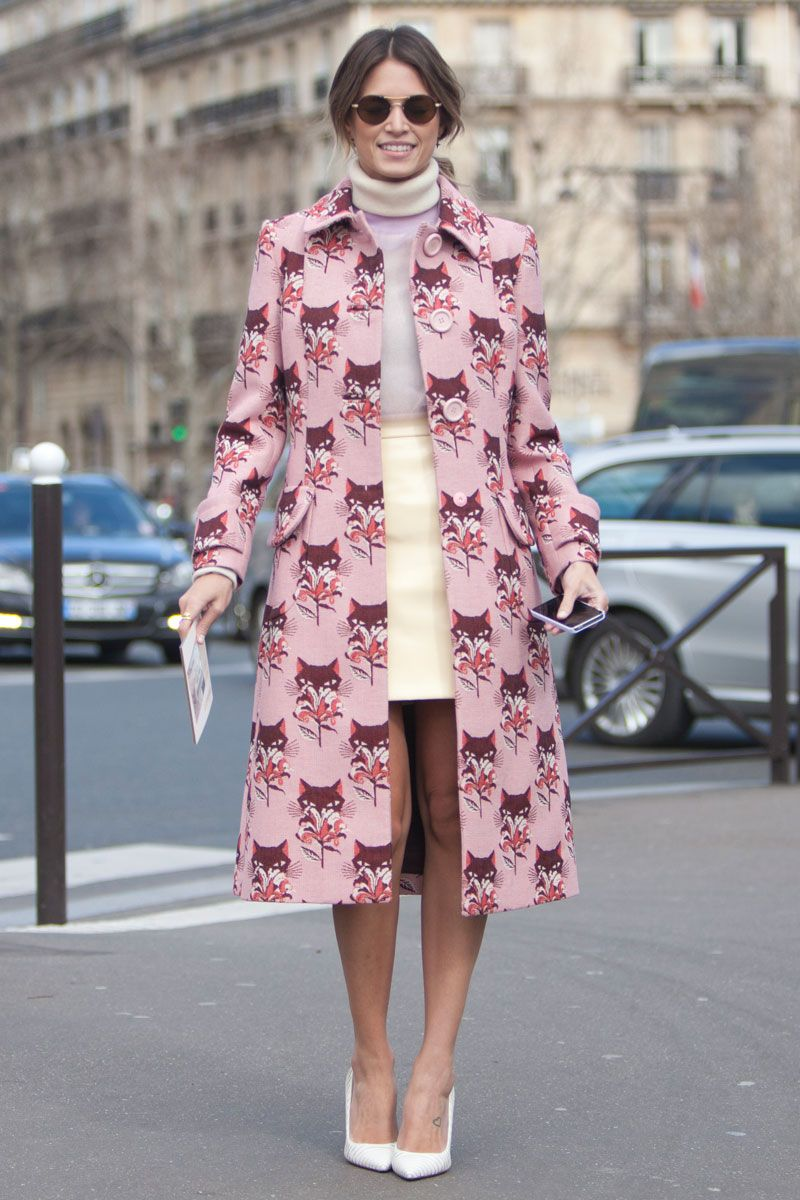 Street Style Paris Fashion Week - Street Style Photos from PFW