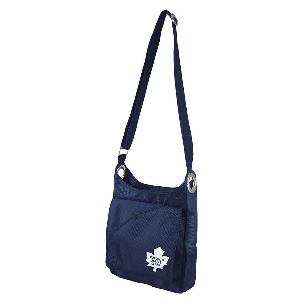 Toronto Maple Leafs NHL Color Sheen Cross-body Bag (Navy)