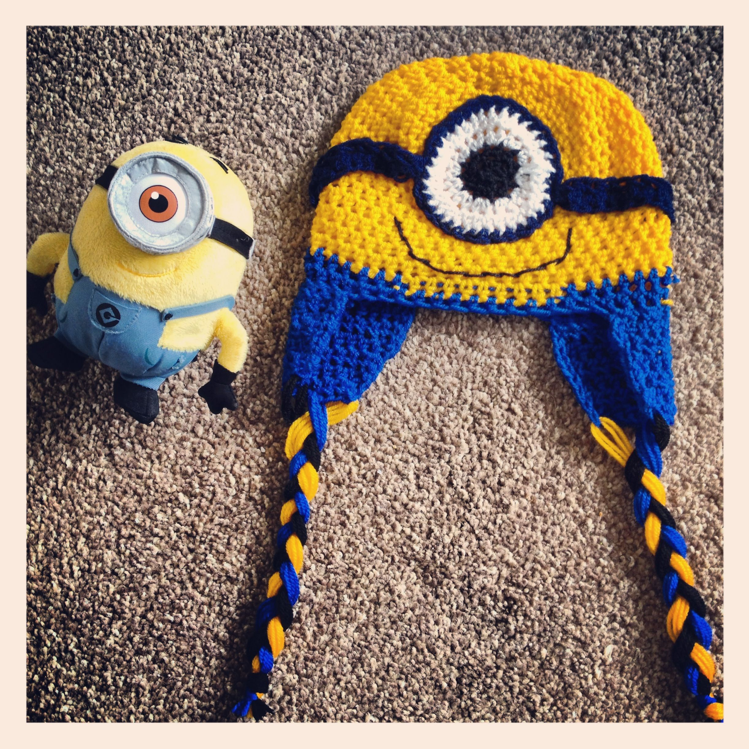 Despicable Me Minion Style Hat ~ Crochet | Despicable me birthday ...