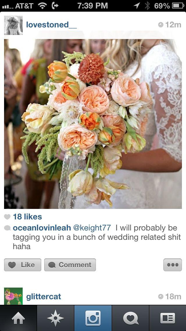 Peony bouquet!