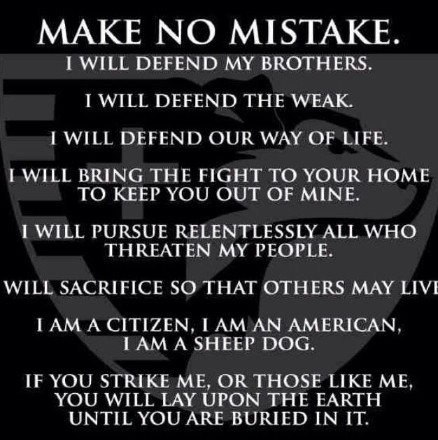 Make no mistake....