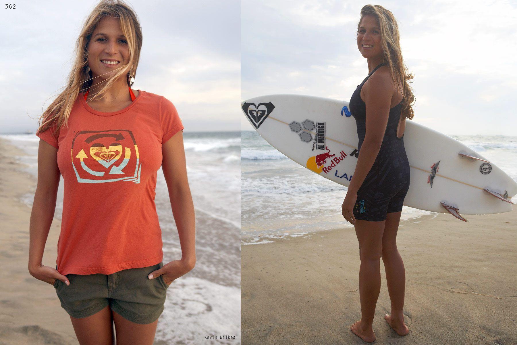 Sofia Mulanovich, una surfista famosa de Peru World surf