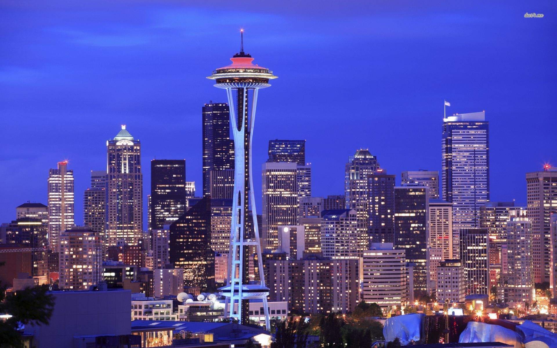 Space Needle Seattle World Mobile Wallpaper X Seattle Pictures Seattle City Seattle Wallpaper