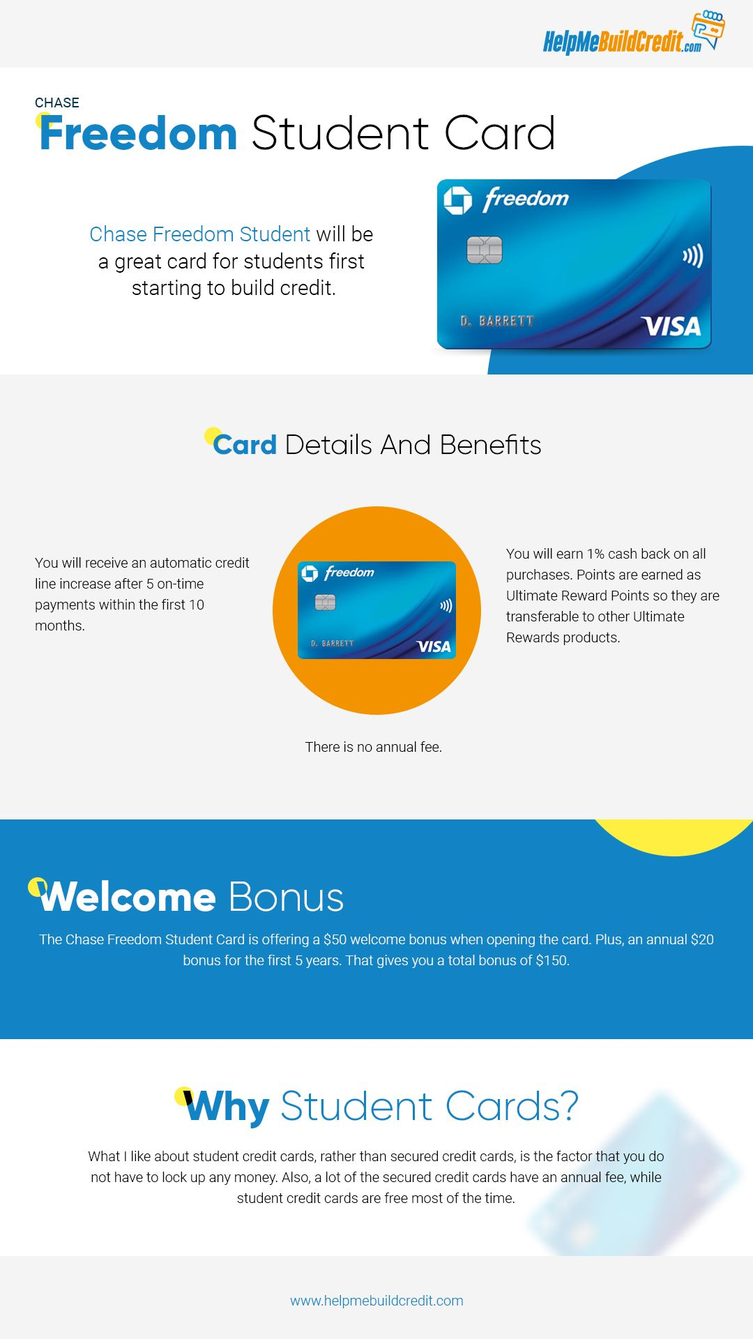Chase Student Credit Card Chase Freedom Build Credit Student