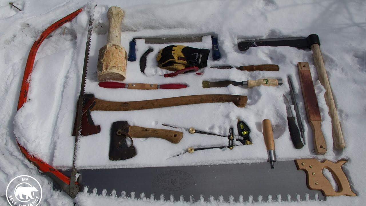 Build a Cheap Log Cabin Without Power Tools Cheap log