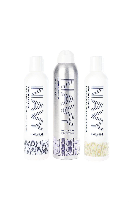 The Navy Breaking Waves Kit Navy Hair Keeping Hair Healthy Texturizing Spray