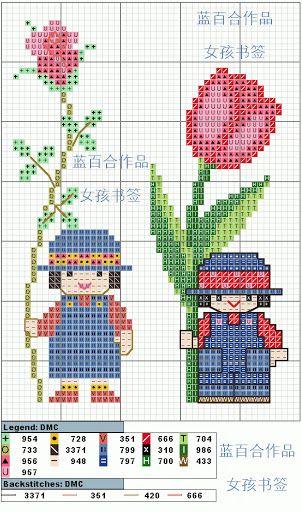 书签 - 小熊猫(4)十字绣 明星 - Álbumes web de Picasa