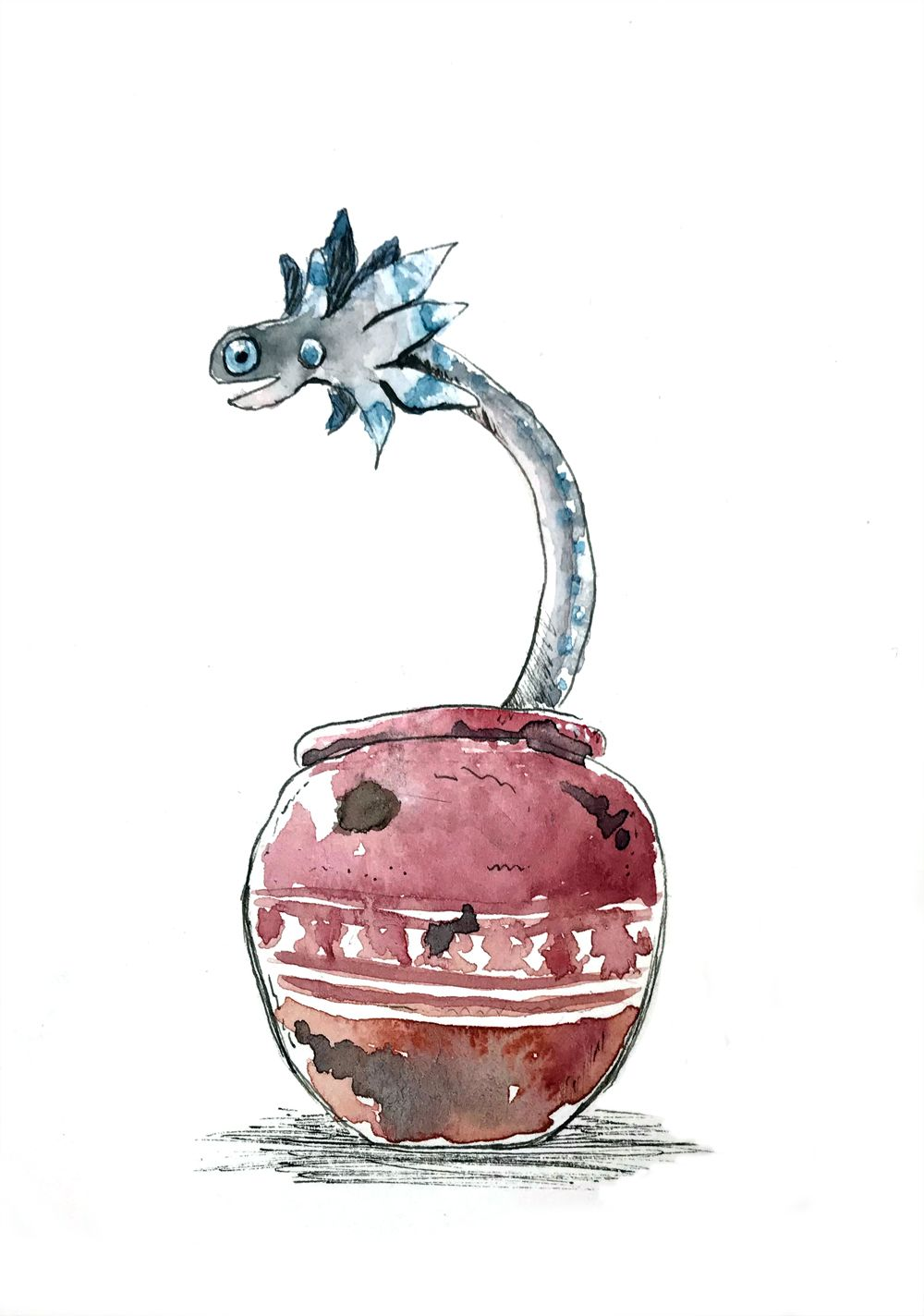 The wiggler one of the super cute pets you can catch in for Decorations monster hunter world