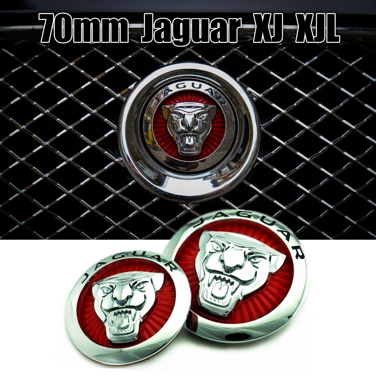 70mm Jaguar Xj Xjl Front Grill Emblem Jaguar Xf Jaguar Xj Jaguar