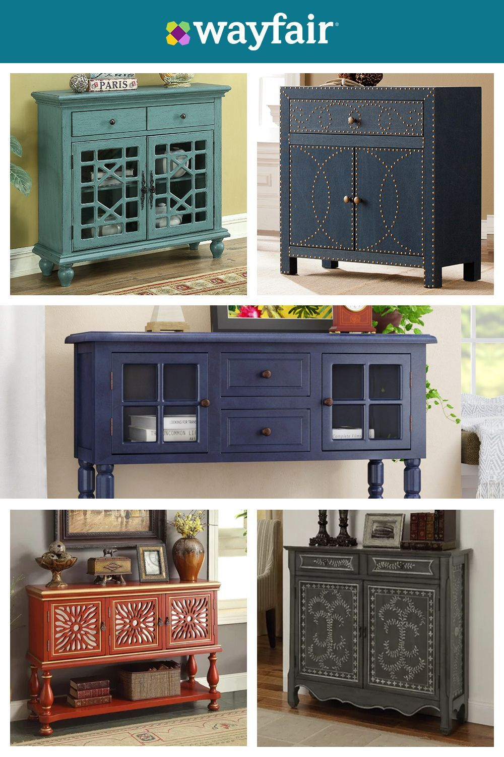 Complement Your Decor And Enjoy Extra Storage With Our Favorite Accent Cabinets Visit Wayfair And In 2020 Decor Diy Furniture Restoration Home Diy