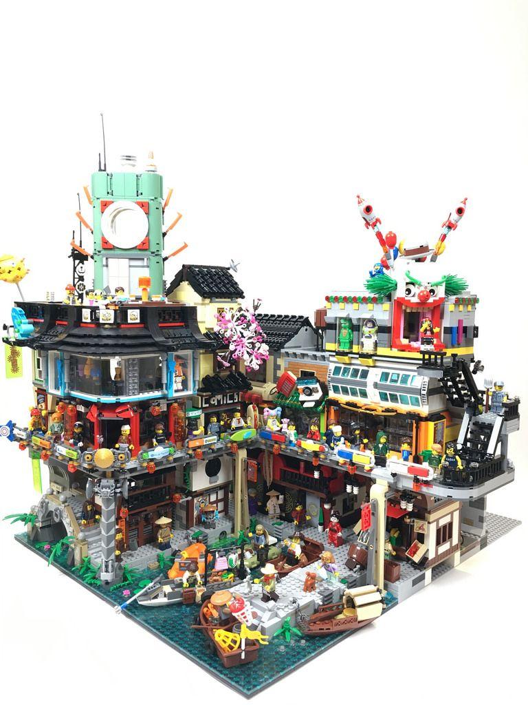 Ninjago City Extension Lego Modular Lego Ninjago City Lego