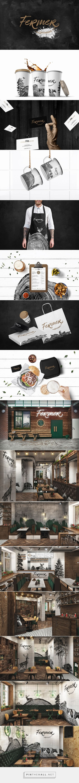 FERMER GASTROBAR Branding by Alex Smart