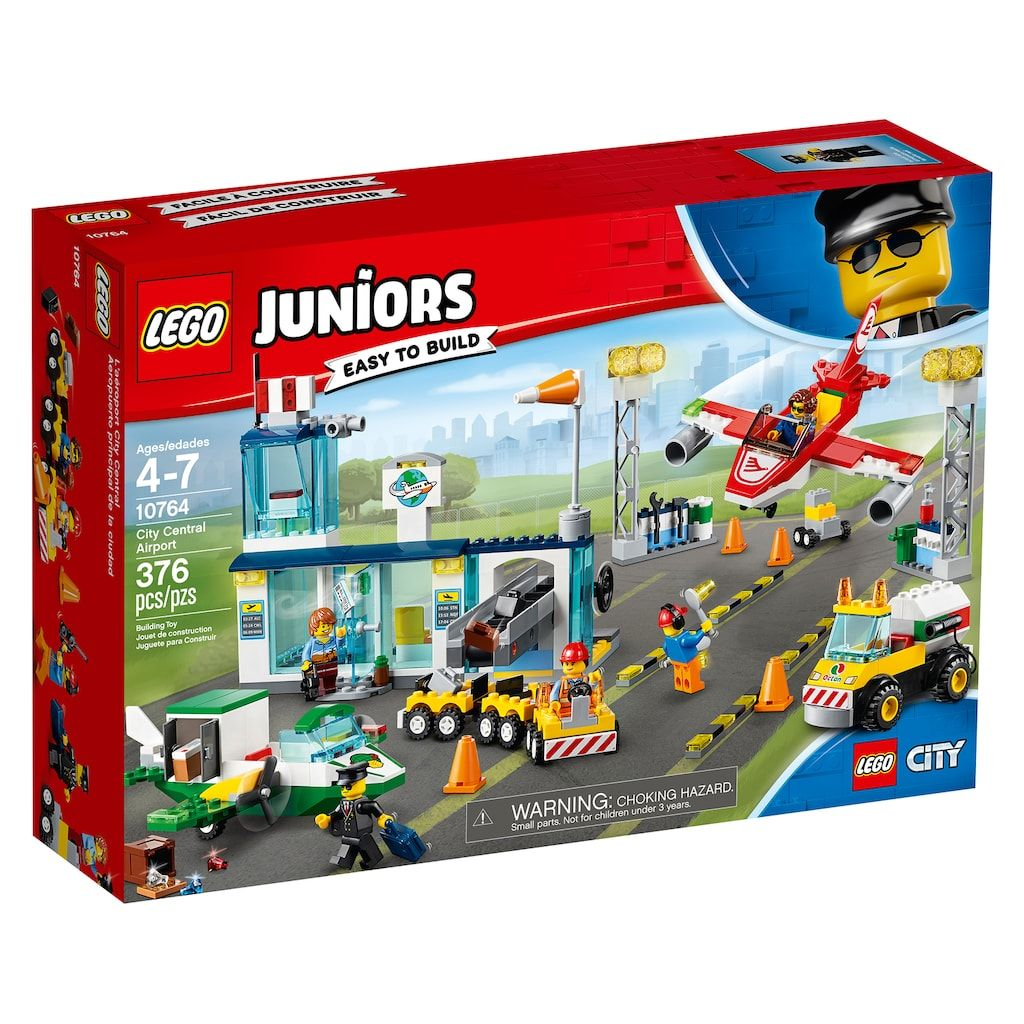 Lego Küchenwaage Spielzeug Lego Junior City Central Airport Building Set Boys Toy Pretend Playset Gift New Triadecont.com.br
