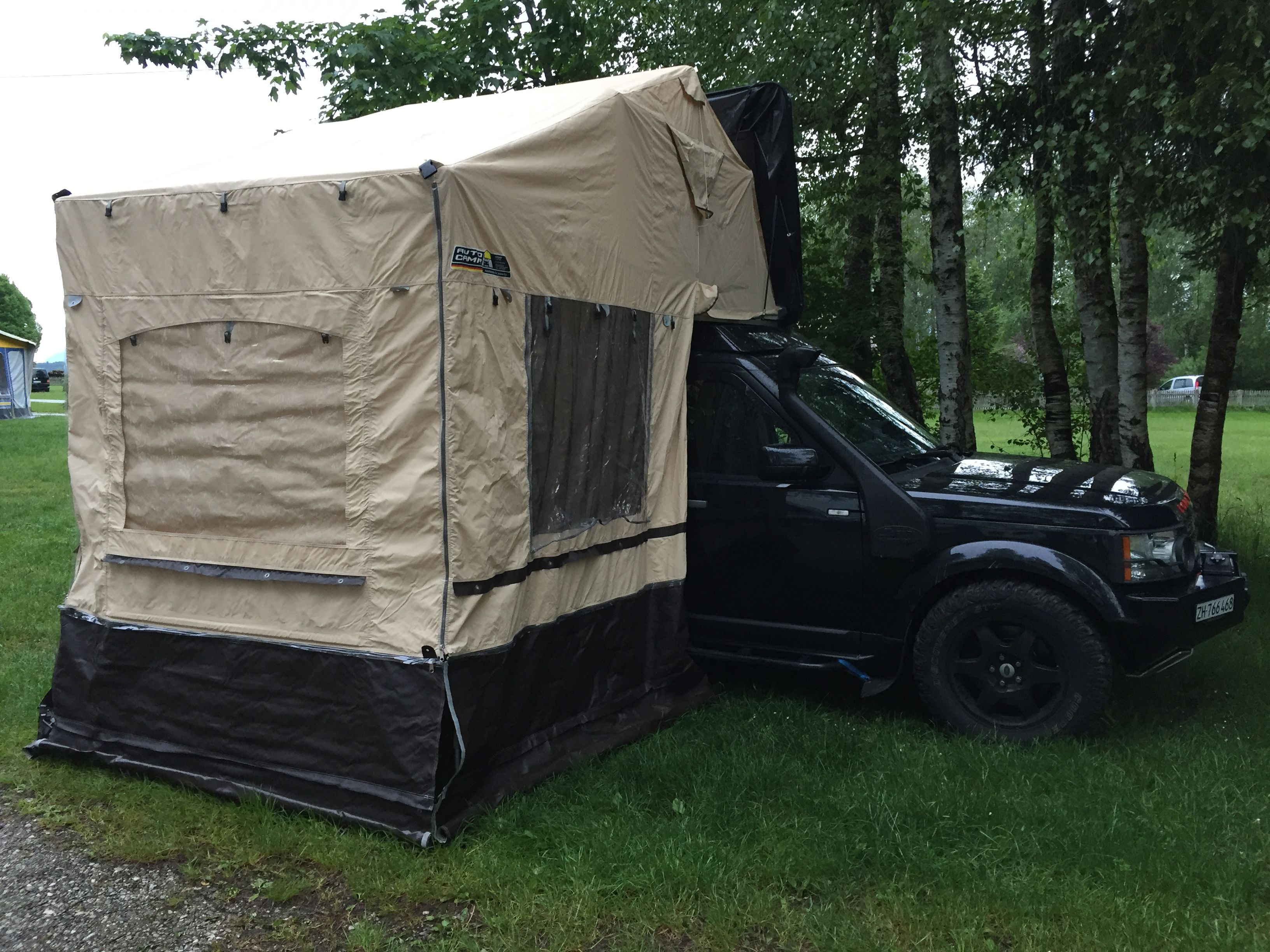 Discovery with roof tent & Discovery with roof tent | Discovery 3 u0026 4 | Pinterest | Land rovers
