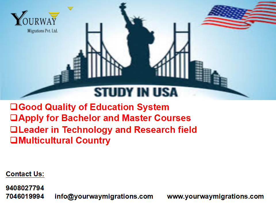 Study In Usa Good Quality Of Education System Leader In Technology And Research Field Apply For Bachelor Education System Research Field Educational Consultant