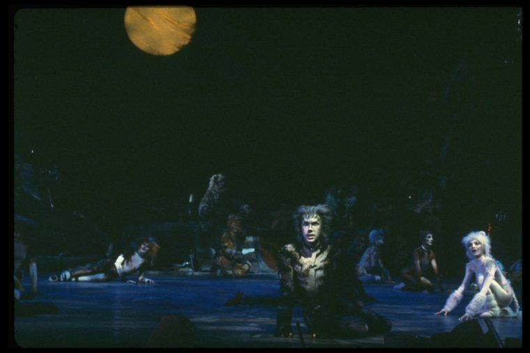 Nypl Digital Collections Cats Musical Cats New York Winter Garden Theatre