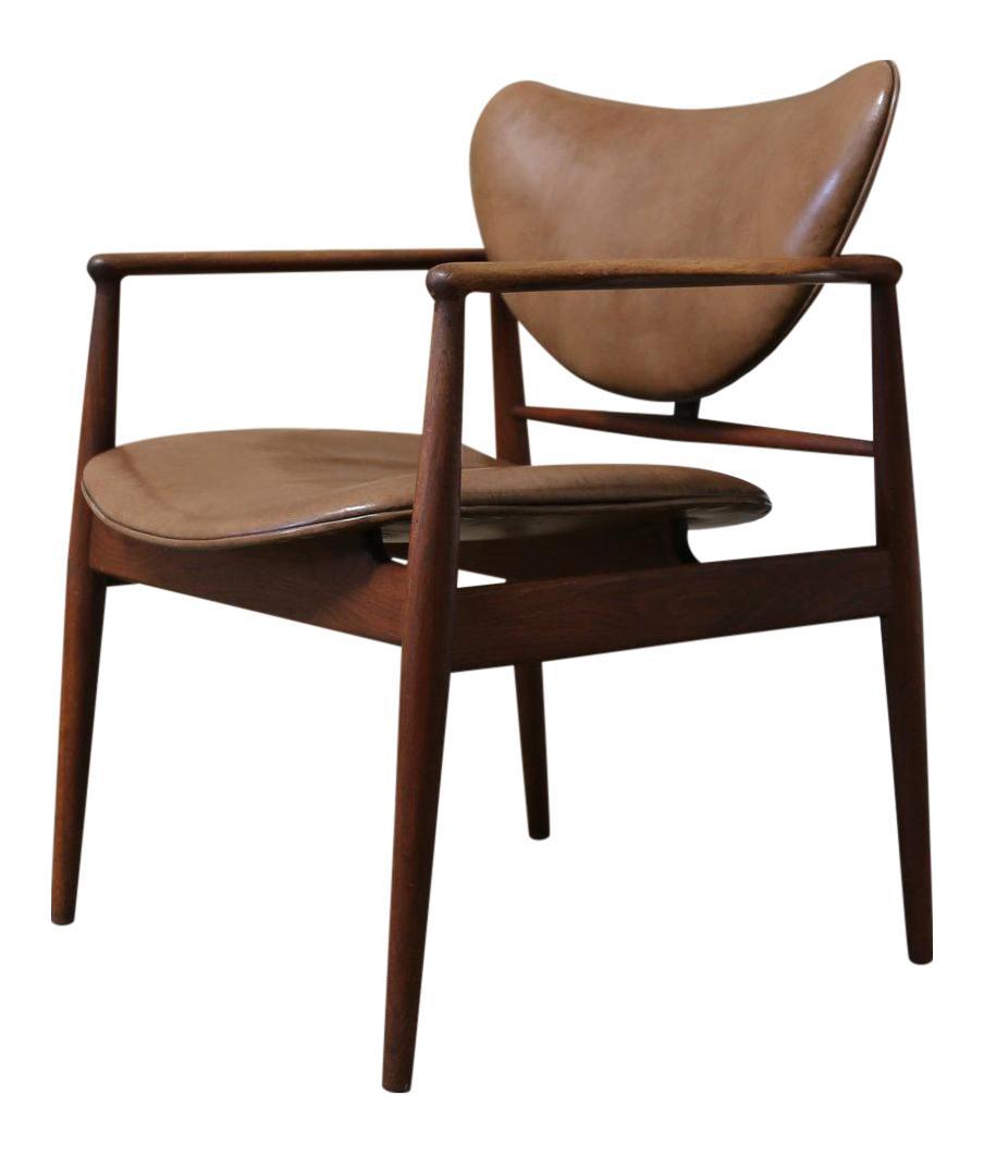 Mid Century Danish Modern Finn Juhl For Baker Furniture