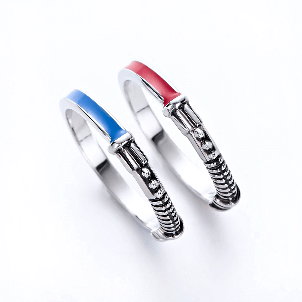 Star Wars Lightsaber Ring Set Of 2 Star Wars Ring Star Wars