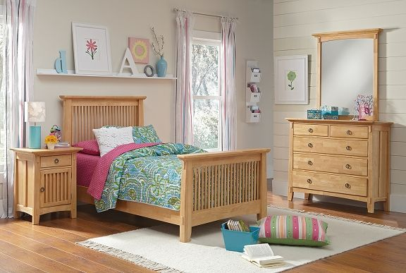 Arts  Crafts Light II Kids Furniture Collection - Value City - Bobs Furniture Bedroom Sets