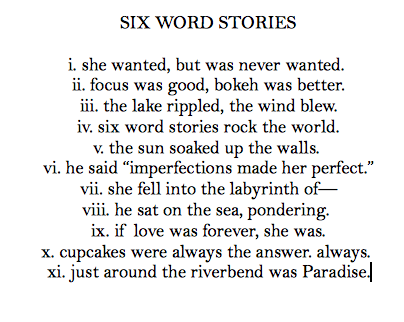 Six word stories cupcake dictionary like the reference in the six word stories cupcake dictionary like the reference in the last one publicscrutiny